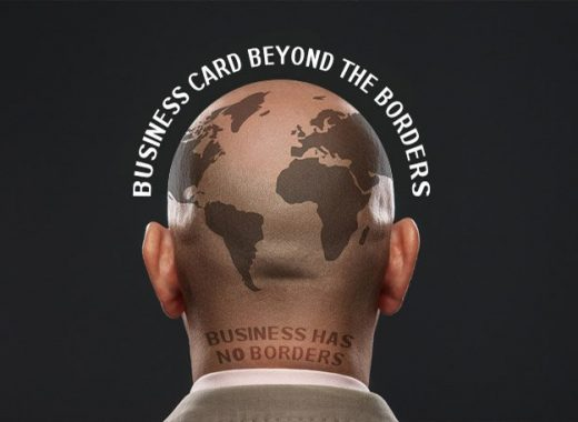 Business card beyond borders gobiggi