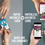paperless business card: what are you sharing?