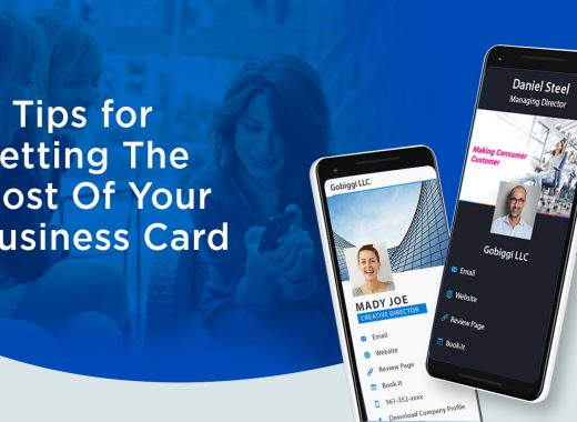 tips for creating business card